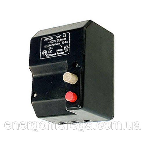 Автоматический выключатель АП 50Б 3МТ 16А