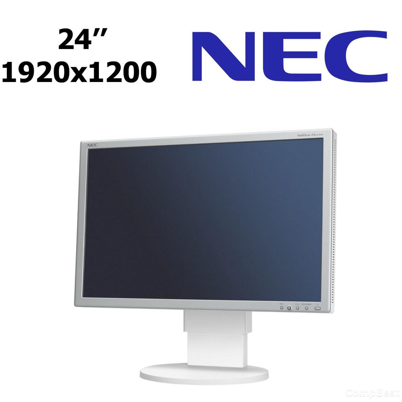 Монитор NEC MultiSync  EA241WM / 24'' / 1920x1200 (16:10) / TN / DVI, VGA / USB