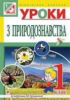 Уроки природознавства 1 клас ( до підр. Грущинської)