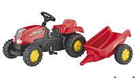 Трактор педальный с прицепом Kid Rolly Toys 12121