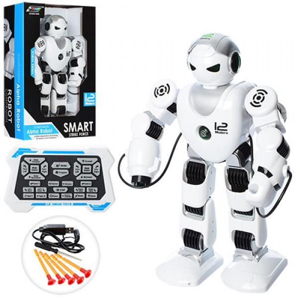 Большой робот на радиоуправлении, стреляет, световые и звуковые эффекты K1