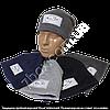Детская шапка с флисом для мальчиков, трехнитка 4-8лет Украина. Реплика Найк м.7569