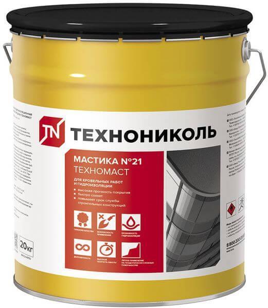 Мастика кровельная Техномаст №21 18 л Технониколь