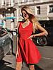 Платье, замш на дайвинге. Размер: С,М. Цвета разные (73), фото 9