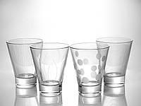 "Набор  стаканов 300 мл ""Лаунж клаб N5284"" 4 шт. Люминарк."