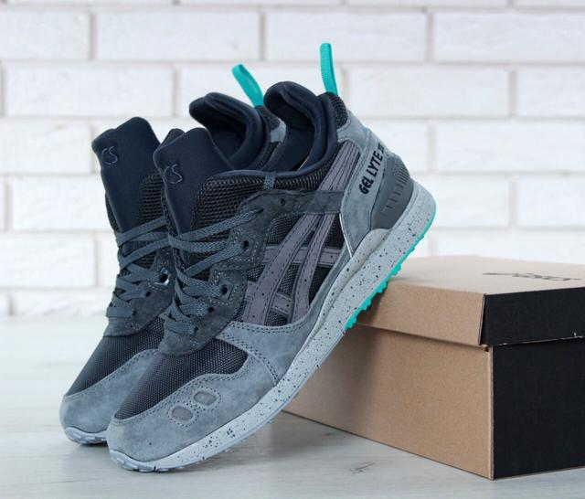 Asics Gel Lyte III Mid Tops Grey Transforms фото