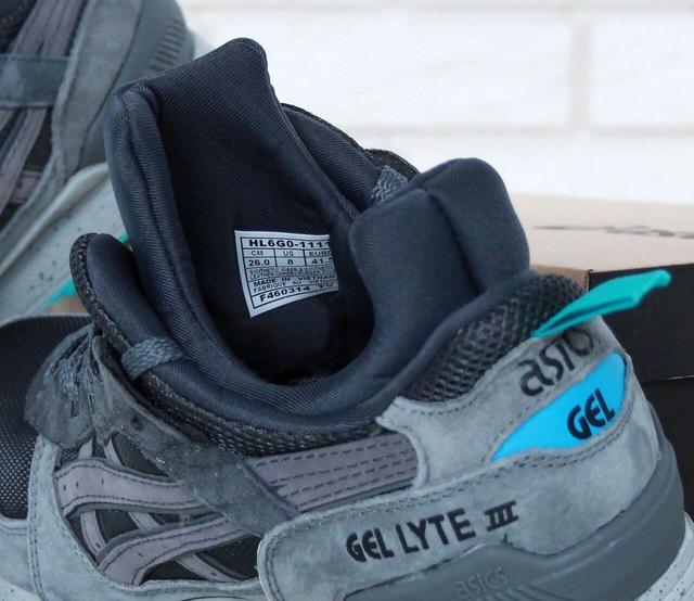 Asics Gel Lyte III Mid Tops Grey Transforms фото
