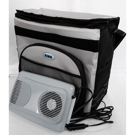 Холодильник автомобильный термоэлектрический 20л 12v EC-0120