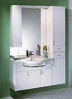 Комплект мебели для ванной комнаты Gorenje Catania 90 910691 белый глянец