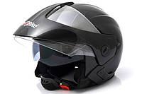 Мотоциклетный шлем City Bike 703-2 открытый r.L