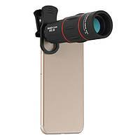 Apexel APL-18XTZJ 18X Telescopr Monocular Объектив с зажимом для мобильного телефона - 1TopShop