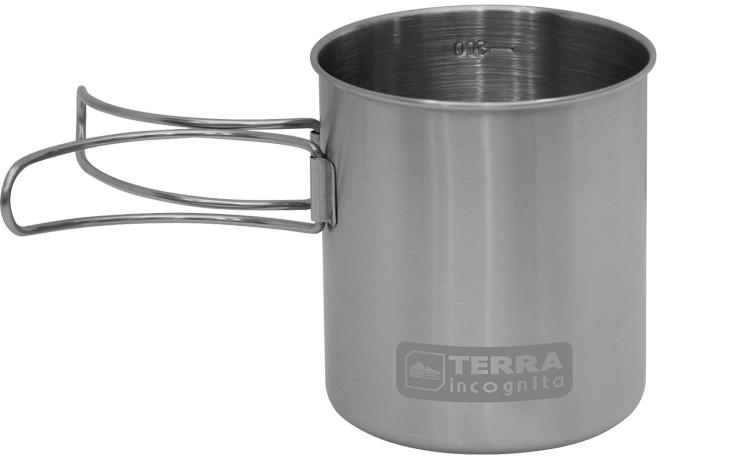Кружка со складными ручками Terra Incognita S-Mug 300 мл