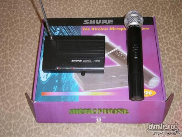 Микрофоны, радиомикрофоны, аксессуары