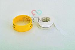 Фум лента желтая PROFI Milano 19*0.2*15м