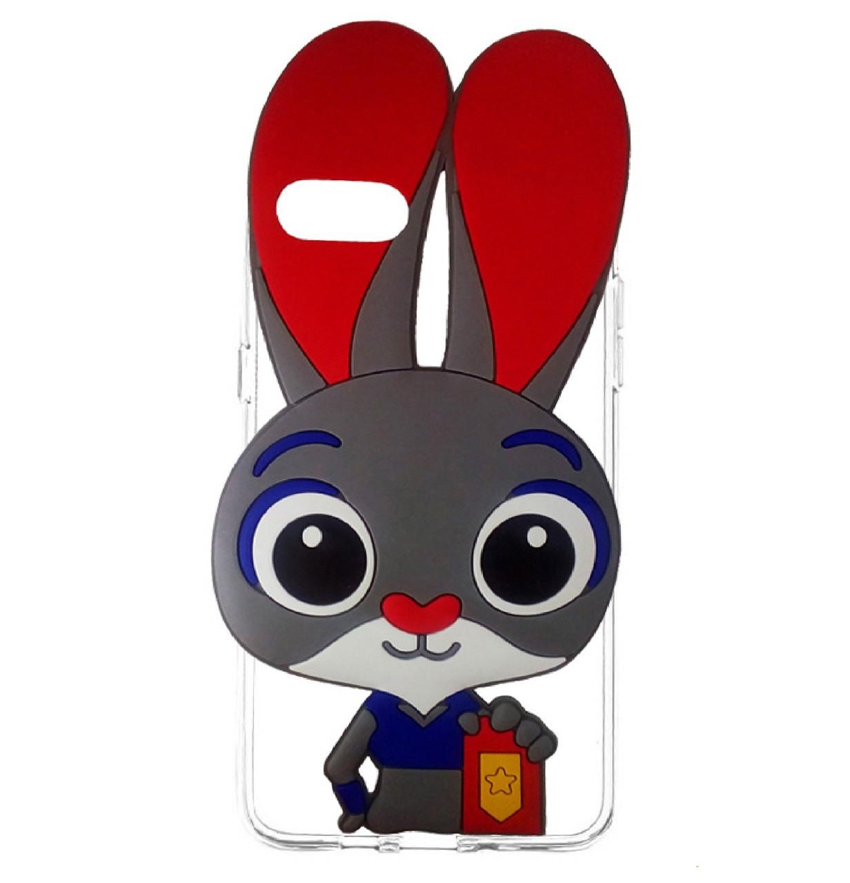 Силиконовый чехол TPU Зверополис Rabbit для IPhone 7 / 8