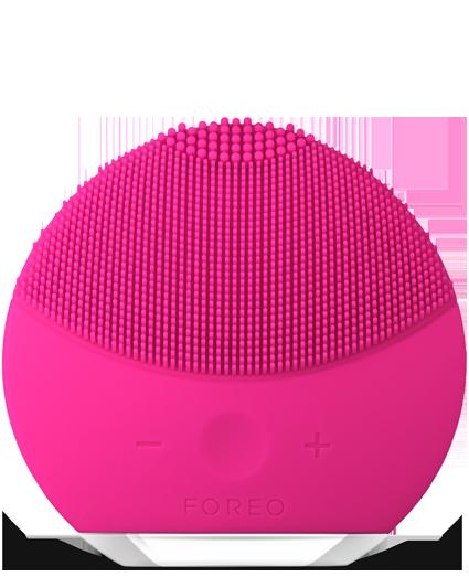 Электрическая щетка   массажер для очистки кожи лица Foreo LUNA Mini 2, Розовый