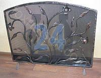 Решетка для камина кованая