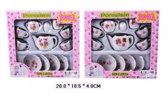 Игровой набор Фарфоровая посудка 868-D4/D5