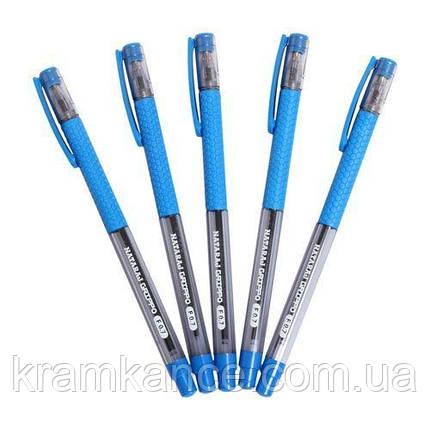 Ручка шариковая NATARAJ Grippo 0.7мм синяя, фото 2