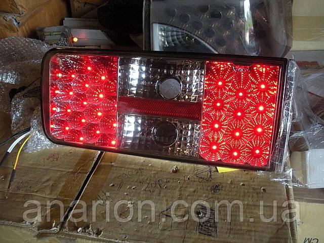 Диодные задние фонари на ВАЗ 2106 Глаза паука №1.