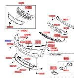 Бампер передний, KIA Ceed 2010 ED, 865111h500, фото 6