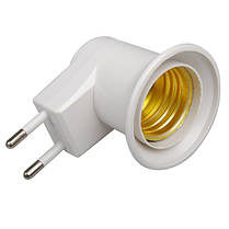 E27 ЕС розетка светильник ночник с кнопкой включения-выключения 1TopShop, фото 3