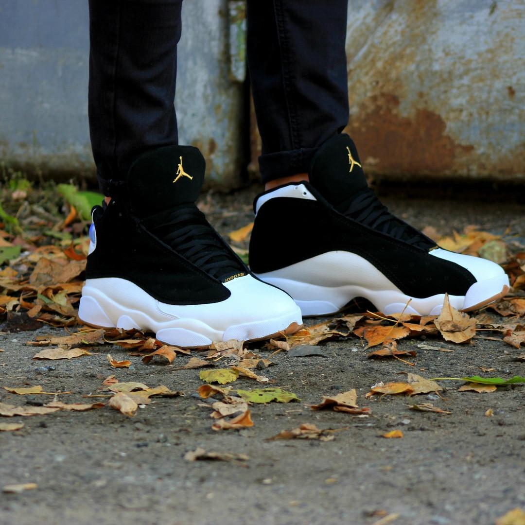 bb24e5d3 Мужские кроссовки Nike Air Jordan 13 Retro Black/White