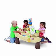 """Столик для воды """" Пиратский корабль"""" Little Tikes"""