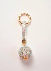 "Брелок для ключей ""RG Ball"" (Crystal AB)"