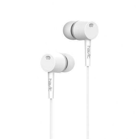 Навушники Havit HV-E68P white
