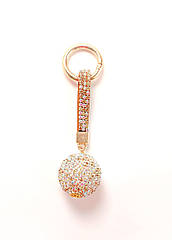 "Брелок для ключей ""RG Ball"" (Crystal Golden Shadow)"