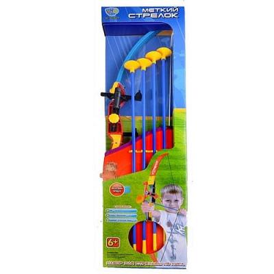 Лук 0346 стрелы на присосках с лазером Limo Toy