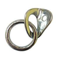 Шлямбурное ухо с кольцом (оцинковка)