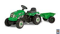 Трактор педальный с прицепом GM Bull Smoby 33329
