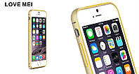 Металлический бампер Love Mei для iPhone 6, фото 1