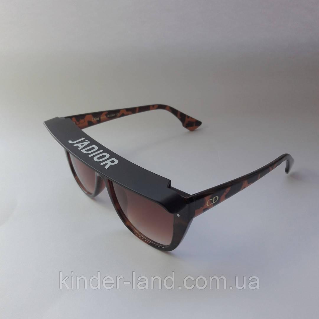5cb23df212c84 Солнцезащитные очки Dior Club 1 с козырьком коричневые - Интернет-магазин