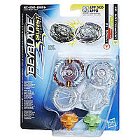 Бейблейд Тайрос Т2 и Думсайзор D2 Beyblade Burst Evolution Tyros T2 and Doomscizor D2 без пускателя