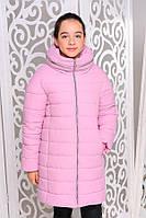 Дитяче зимове пальто ( зимова куртка) на дівчинку підлітка Віола на зростання від 128см до 158см, фото 1