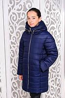 Детское зимнее пальто ( зимняя куртка)   на подростка девочку  Виола на рост от 128см до 158см