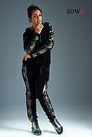 Спортивный костюм женский батал  Квадро