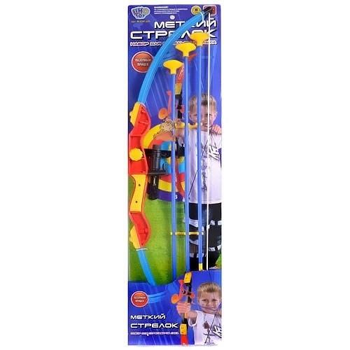 Лук 35881 В с лазерным прицелом, стрелы на присосках Limo Toy