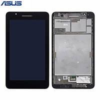 Дисплей (LCD) для планшета Asus Fonepad FE171CG с тачскрином и рамкой black