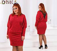 Женское платье батал ангора 46-54, фото 1