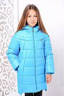 Детская зимняя куртка Николь ( зимнее пальто)  на подростка девочк на рост 122-152см