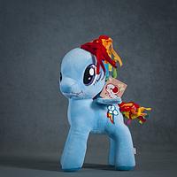 Пони Радуга, Рэйнбоу Дэш 30 см. My Little Pony Мой маленький пони Мягкая игрушка, фото 1