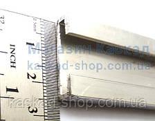 Планка  алюминиевая  для монтажа уплотнителя Dhollandia ((M0050), фото 2