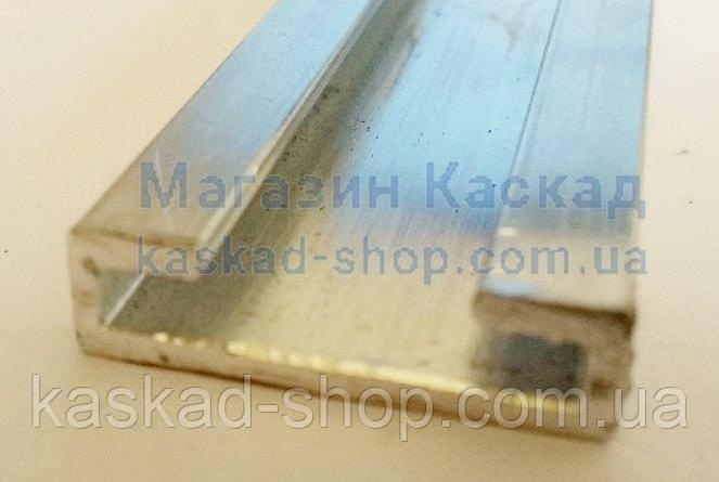 Планка  алюминиевая  для монтажа уплотнителя Dhollandia ((M0050)