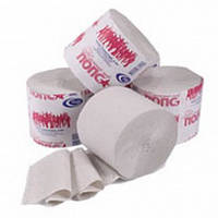 Туалетная бумага серая однослойная без гильзы b901