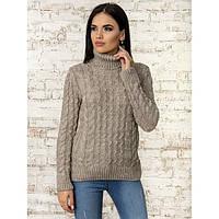 Модный свитер с натуральной пряжи     Размер универсальный 44-46-48