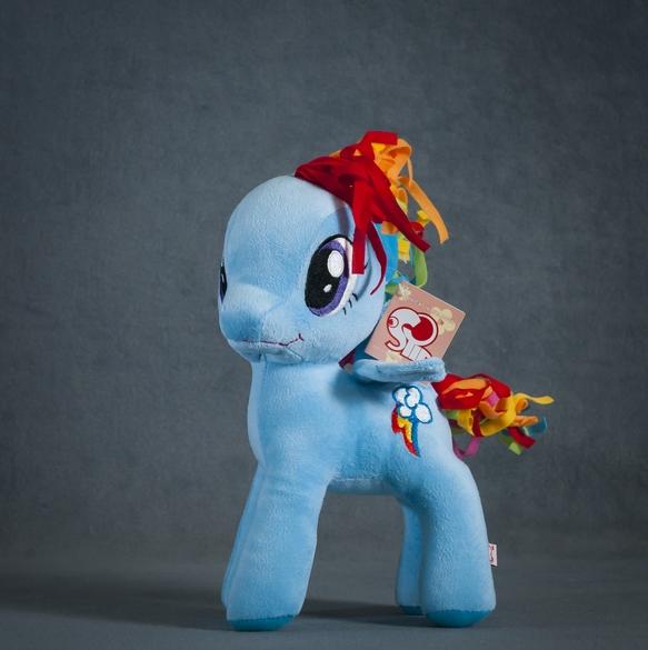 Пони Радуга, Рэйнбоу Дэш 30 см. My Little Pony Мой маленький пони Мягкая игрушка